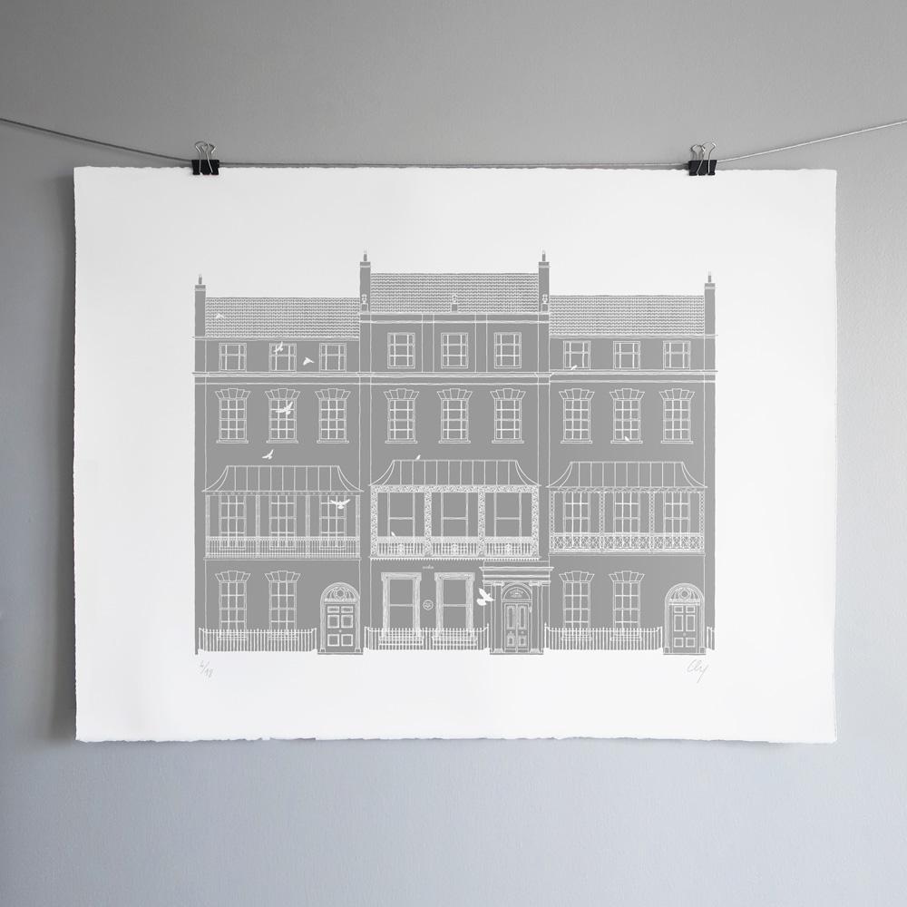 Ely Eugnénie house Sérigraphie Art Bristol